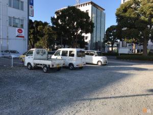 富士市水道庁舎駐車場