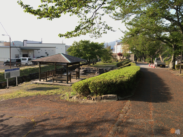 中津川市役所近くの公園