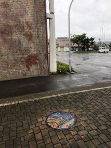 奈井江町マンホール