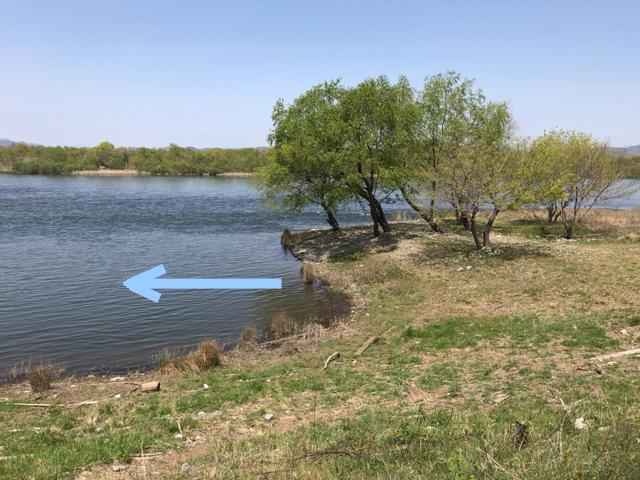 半分青い木曽川