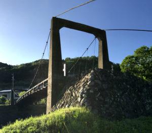 釜戸のつり橋