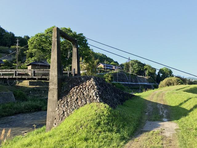 釜戸の吊橋