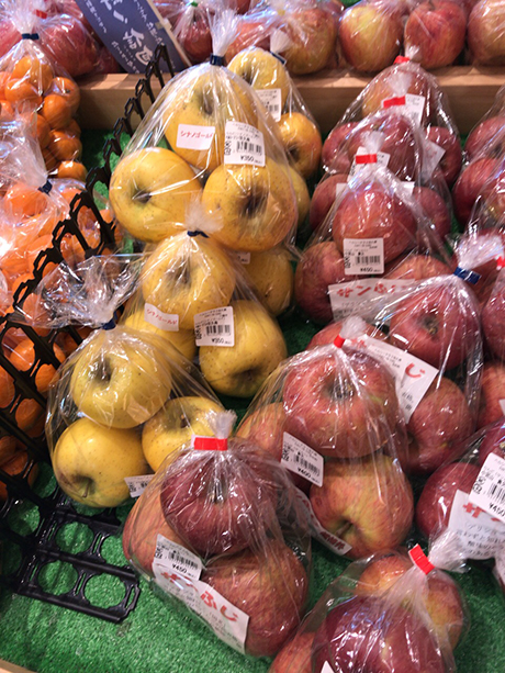たてしなリンゴ