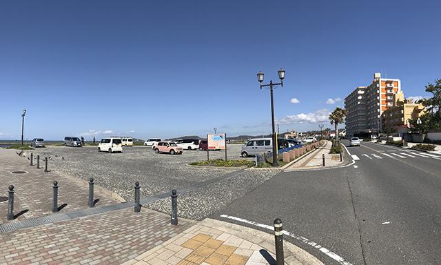 新井海岸駐車場