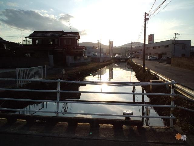 気仙沼市大川の支流
