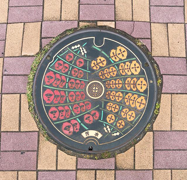 秋田市座標マンホール