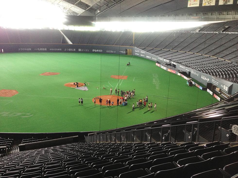 札幌ドーム見学ツアー