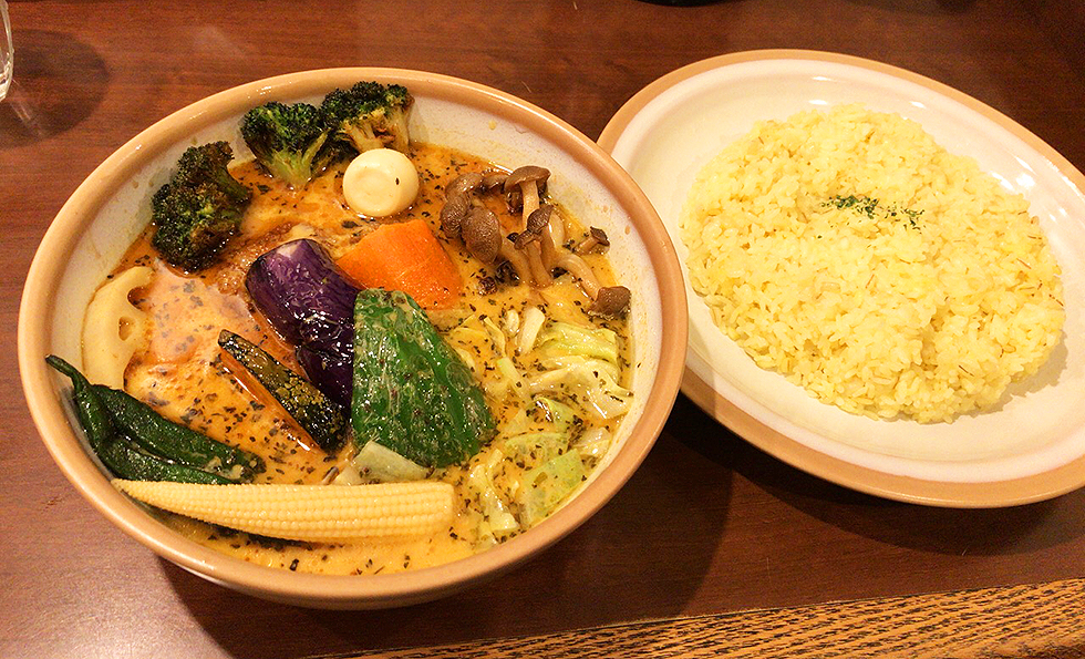 チキン野菜カリー