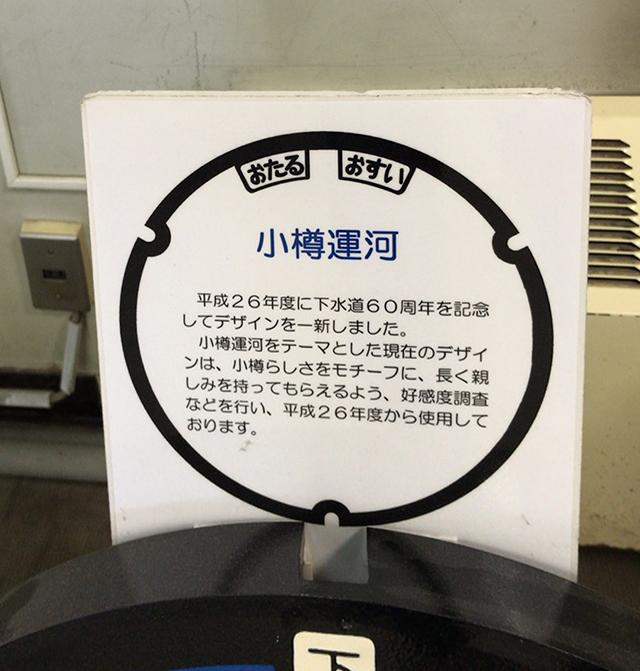 小樽市マンホール