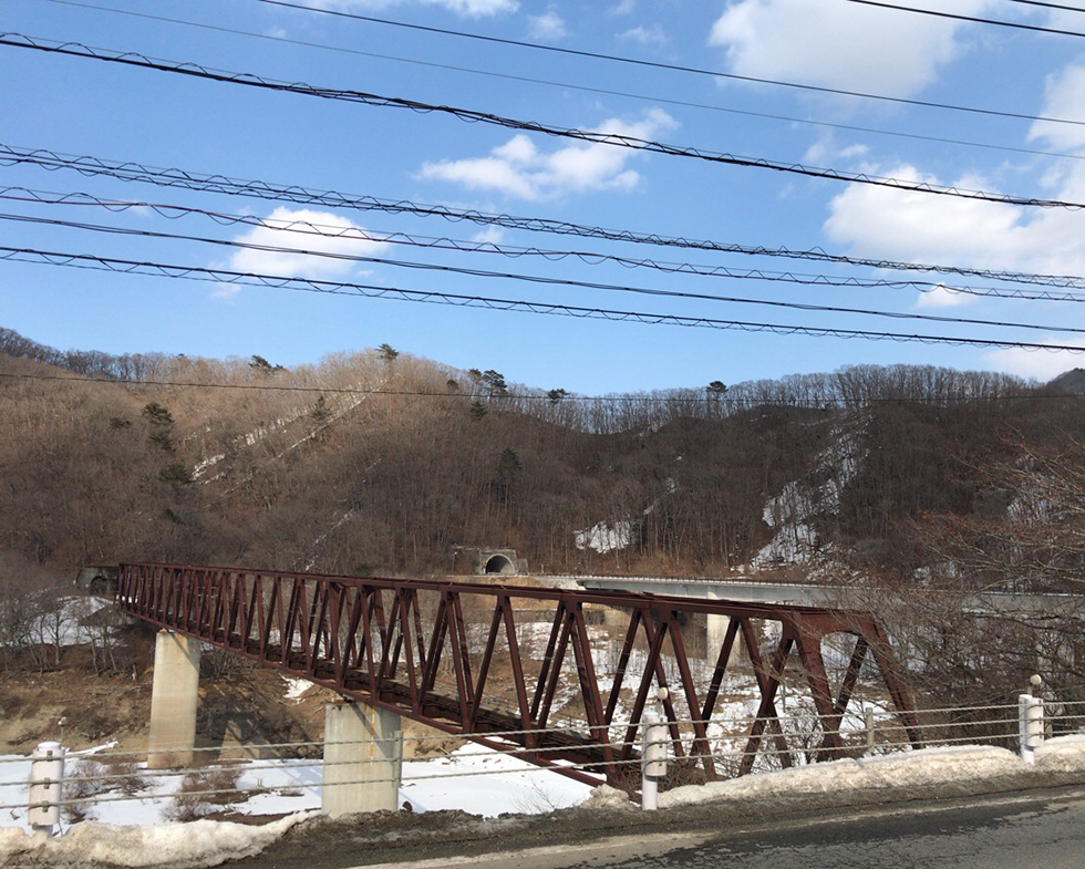 野岩鉄道の鉄橋